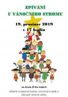 Zpívání u vánočního stromu 1