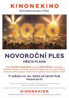 Novoroční ples města Planá 1