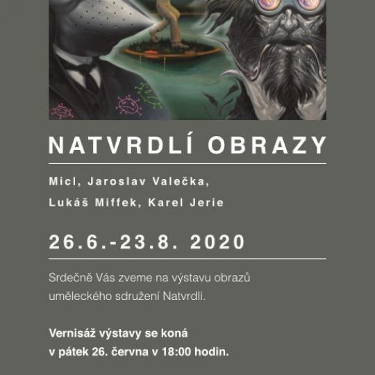Vernisáž výstavy uměleckého sdružení Natvrdlí 1