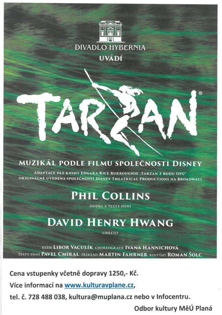 Podzimní zájezd na muzikál Tarzan