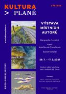 Výstava obrazů místních autorů