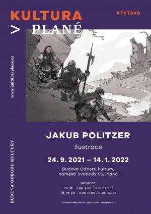 Vernisáž výstavy ilustrací Jakuba Politzera