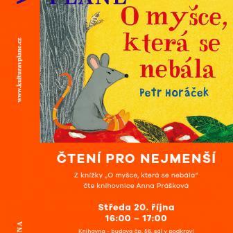 Čtení pro nejmenší - O myšce, která se nebála